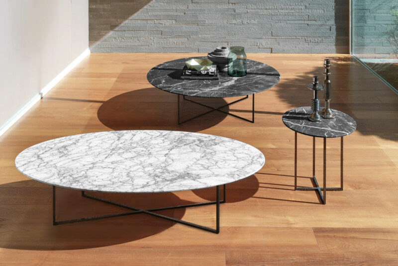 SABI <em>Sabi is a new set of coffee tables available in three versions (round, oval and small).</em>