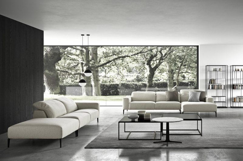 Serse Minimalist, streamlined and rational.