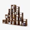 FREEDOM Bookshelf in solid wood