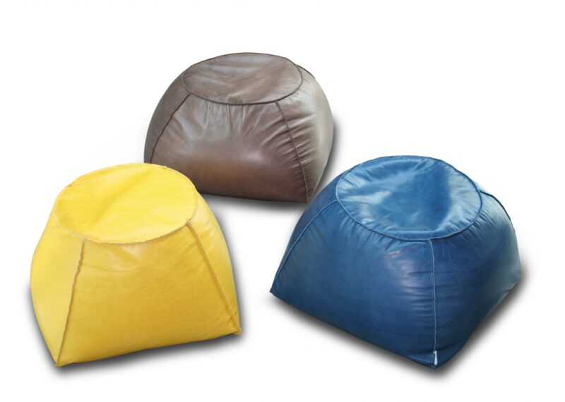 TRAPEZIO Calia Italia footstools are highly versatile design