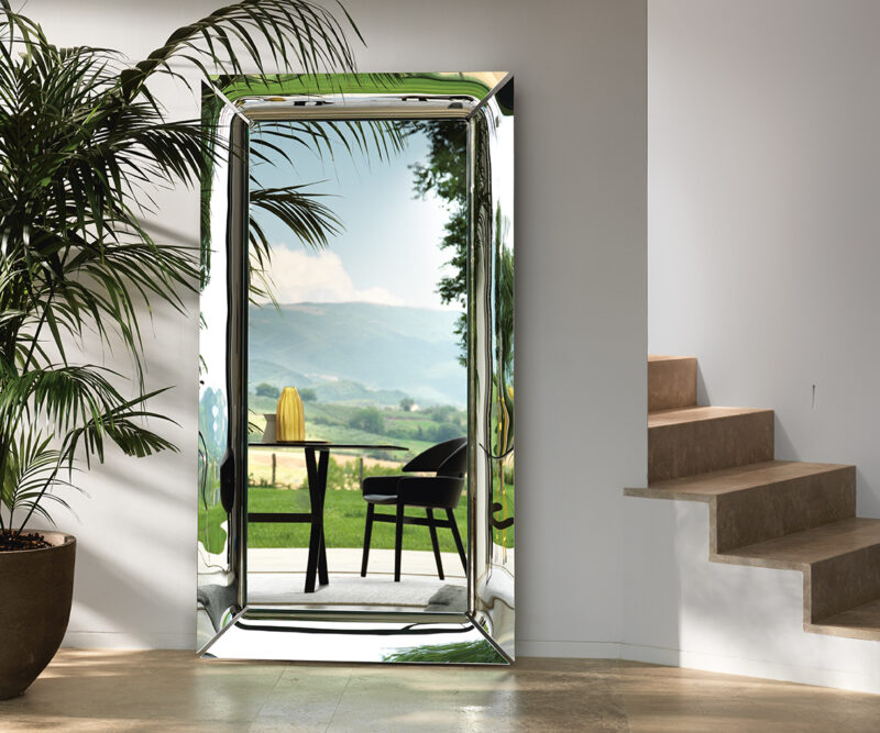 Caadre MIRROR IN CURVED GLASS
