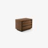KYOTO 5 Night table in veneered blockboard