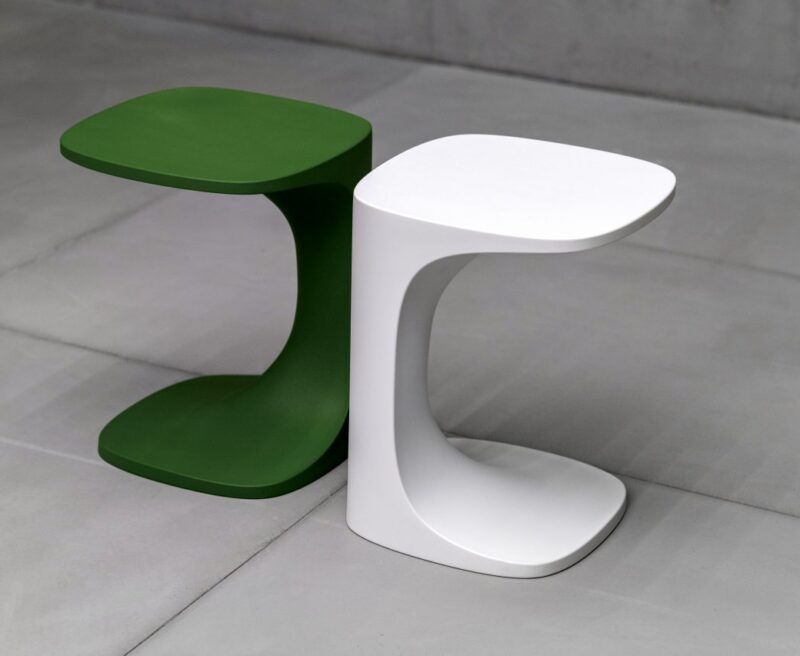 FONT The new occasional table, designed by the Swedes Claesson Koivisto Rune