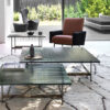 WAVES COLLECTION OF COFFEE-TABLES IN DV GLASS