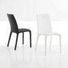 Alanda Alanda is a chair with a steel frame and cold foamed  polyurethane padding, fully upholstered.
