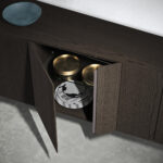INCLINART InclinART sideboards, a modular system that changes the underlying rules of how a unit is constructed