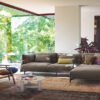 Belt Sofa Comfort and softness above all else. An open-source sofa, a design choice that favours the comfort of the seat, which seeks to look and feel softer and cosier than ever.